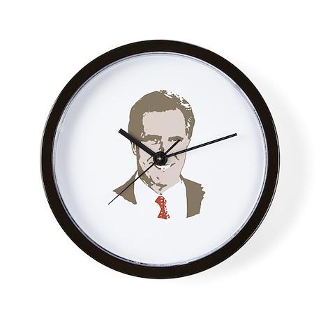 Mitt Romney Face Wall Clock