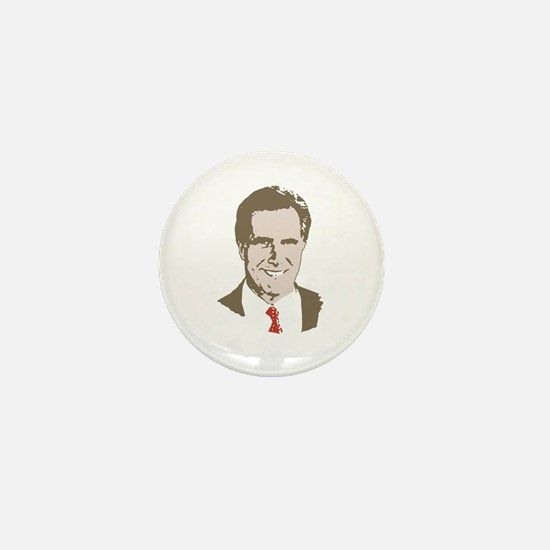 Mitt Romney Face Mini Button