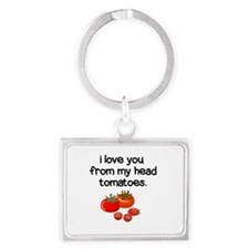 Love You from My Head to My Toes Keychains