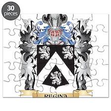 Regina Coat of Arms - Family Crest Puzzle