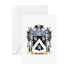 Regina Coat of Arms - Family Crest Greeting Cards