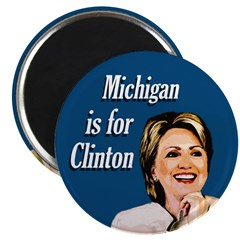 Michigan is for Clinton Political Magnet