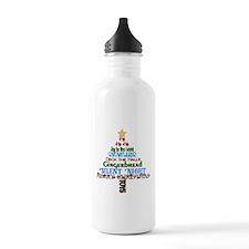 Winter Subway Art Water Bottle