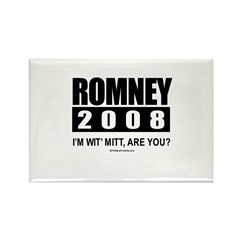 Romney 2008: I'm wit' Mitt. Are you? Rectangle Mag