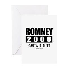 Romney 2008: Get wit' Mitt Greeting Card