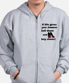 Girls and Shoes Zip Hoodie