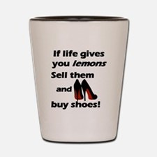 Girls and Shoes Shot Glass