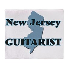 New Jersey Guitarist Throw Blanket
