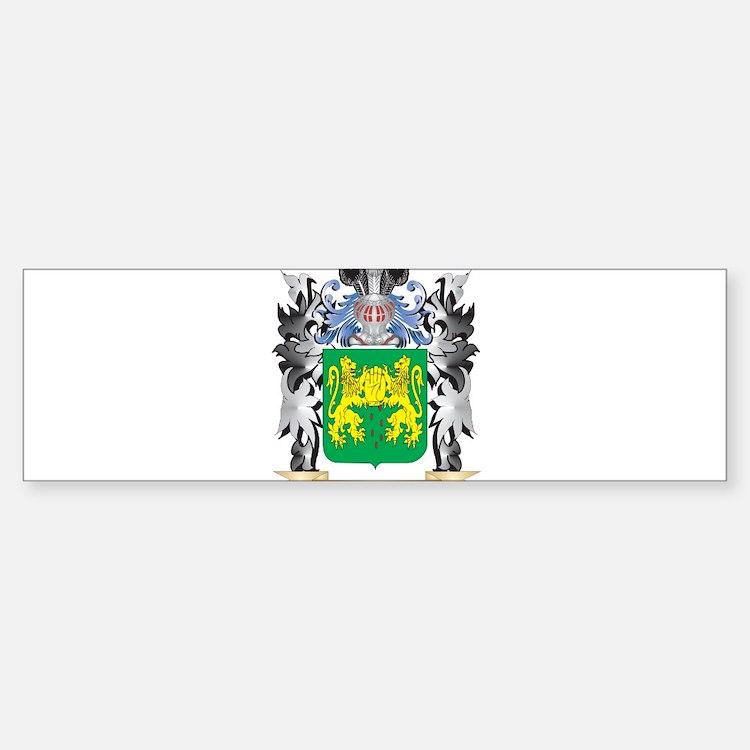 Reilly Coat of Arms - Family Crest Bumper Bumper Bumper Sticker