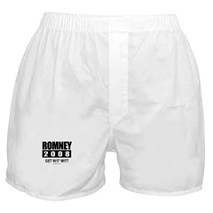 Romney 2008: Get wit' Mitt Boxer Shorts