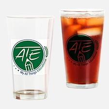 ATE Logo Drinking Glass