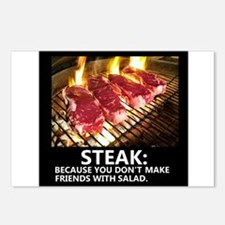 BBQ LOVER Postcards (Package of 8)