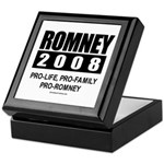Romney 2008: Pro-life, Pro-family, Pro-Romney Tile