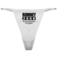 Romney 2008: Pro-life, Pro-family, Pro-Romney Clas
