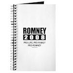 Romney 2008: Pro-life, Pro-family, Pro-Romney Jour