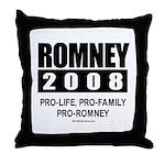 Romney 2008: Pro-life, Pro-family, Pro-Romney Thro