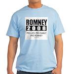 Romney 2008: Pro-life, Pro-family, Pro-Romney Ligh