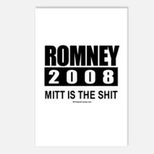 Romney 2008: Mitt is the shit Postcards (Package o