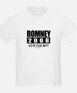 Romney 2008: Vote for Mitt T-Shirt