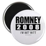 Romney 2008: I'm wit Mitt Magnet