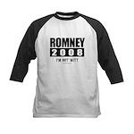 Romney 2008: I'm wit Mitt Kids Baseball Jersey
