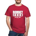 Romney 2008: I'm wit Mitt Dark T-Shirt
