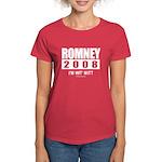 Romney 2008: I'm wit Mitt Women's Dark T-Shirt