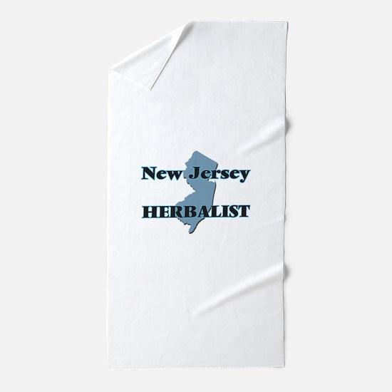 New Jersey Herbalist Beach Towel