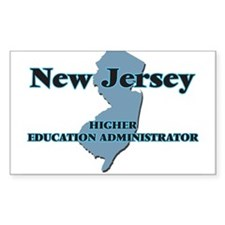 New Jersey Higher Education Administrator Decal