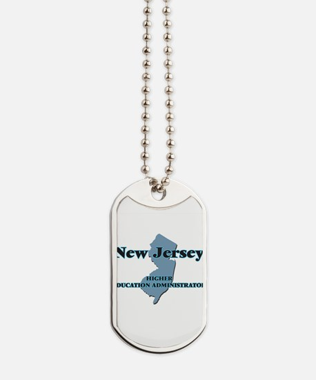 New Jersey Higher Education Administrator Dog Tags