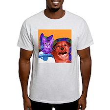 Cute Animal cats T-Shirt