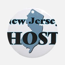 New Jersey Host Round Ornament