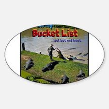 Bucket List Decal