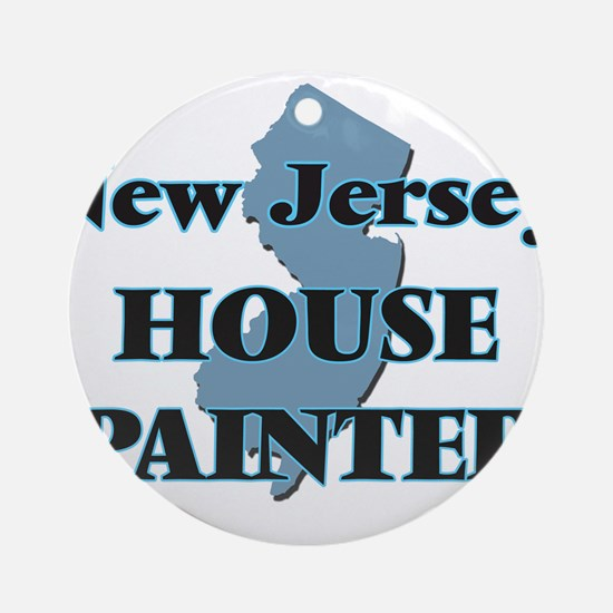 New Jersey House Painter Round Ornament