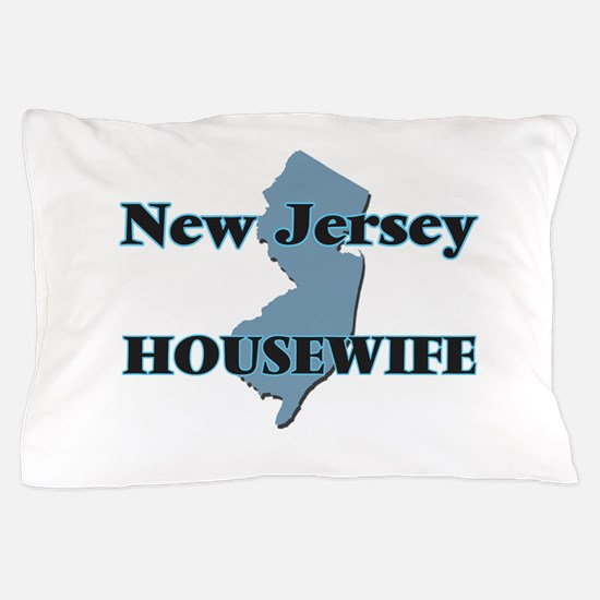 New Jersey Housewife Pillow Case
