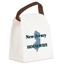New Jersey Housewife Canvas Lunch Bag