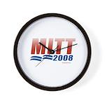 Mitt 2008 Wall Clock