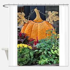 Cute Pumpkin Shower Curtain