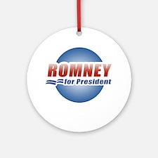 Mitt Romney for President Ornament (Round)