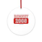 Romney 2008 Ornament (Round)