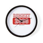 Romney 2008 Wall Clock