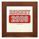 Romney 2008 Framed Tile