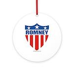 Mitt Romney Ornament (Round)