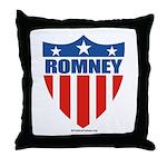 Mitt Romney Throw Pillow