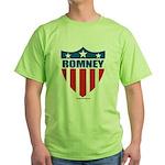 Mitt Romney Green T-Shirt