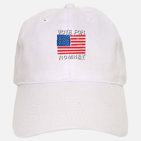 Vote for Romney Baseball Baseball Cap