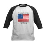 Vote for Romney Kids Baseball Jersey