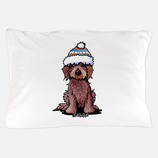 Winter Chocolate Pillow Case