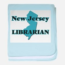 New Jersey Librarian baby blanket