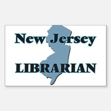 New Jersey Librarian Decal